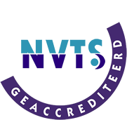 NVTS accreditatie aanwezig